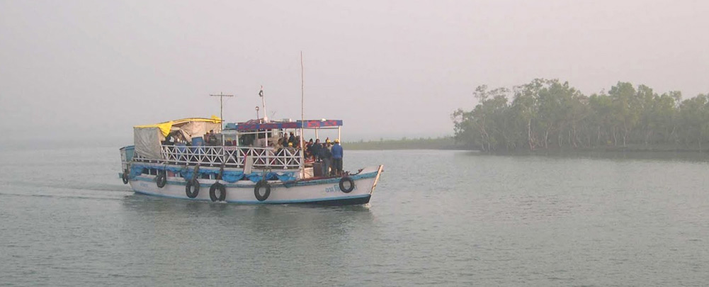 Boating at Sunderban